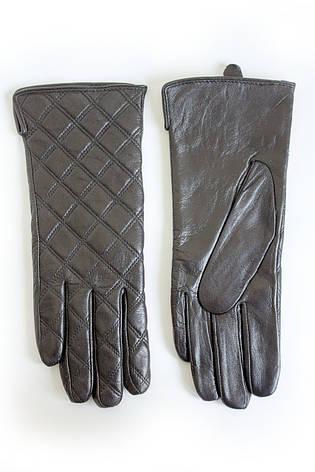 Женские кожаные перчатки ВЯЗКА  W13-160021s1, фото 2