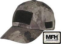 Кепка тактическая с липучками HDT camo MFH цвета камуфляж