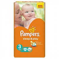 Подгузники PAMPERS Sleep & Play Midi (4-9 кг) 58 шт. (4015400224211)