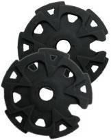 Кольцо «Стандарт» 5см Tramp для палок черного цвета