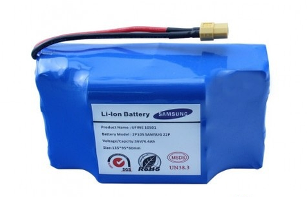 Батарея для гироскутера Samsung 4.4 Ah 36V, фото 2