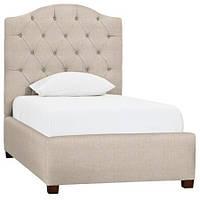 Детская кровать односпальная Elle с мягким изголовьем односпальная  для отеля, гостиницы