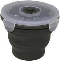 Ланчбокс  круглый складной MFH 33415