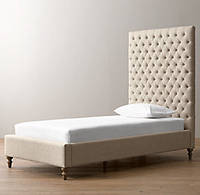 Детская кровать односпальная Prince с мягким изголовьем односпальная  для отеля, гостиницы