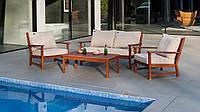 Комплект уличной мебели из красного дерева Cornis