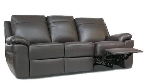 """Трехместный диван в коже с реклайнером """"PHILADELPHIA"""" (202см)"""