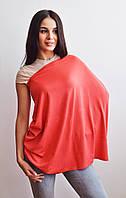 Милкснуды Накидка для кормленияДля кормящих женщин грудью Молочные фартуки и шарфы на коляску - люльку Корал