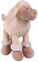 Игрушка Trixie Sheep для собак плюшевая, с пищалкой, 30 см