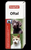 Beaphar Oftal 50мл-средство от появления слезных пятен и для очистки глаз у домашних животных (12547)