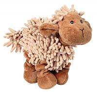 Игрушка Trixie Sheep для собак плюшевая, лохматая, 21 см