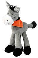 Игрушка Trixie Donkey для собак плюшевая, с пищалкой, 24 см