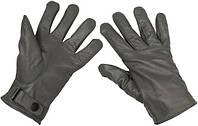 Перчатки Бундесвера кожаные серые (XL) MFH 15061M