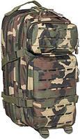 """Рюкзак 30л американского (США) типа MFH """"Assault I Laser"""" лесной камуфляж 30335T"""