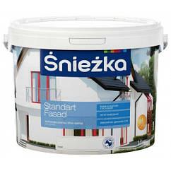 Фасадная краска Sniezka Standart Fasad 1.4кг
