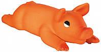 Игрушка Trixie Sucking Pig для собак латексная, поросенок с пищалкой, 44 см