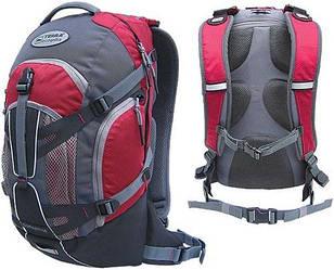 Рюкзак спортивный Terra Incognita Dorado 16 красно серого цвета