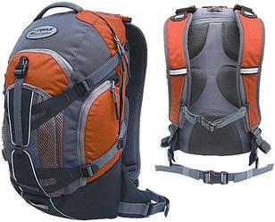 Рюкзак спортивный Terra Incognita Dorado 16 оранжево серого цвета