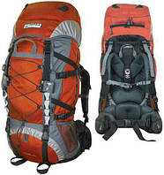 Рюкзак туристический Terra Incognita Trial 55 оранжевый/серый