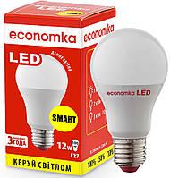 Умная светодиодная лампа Economka LED 12W SMART Е27-4200K