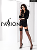 Черные чулки в сеточку Passion ST020 nero размер 1/2, фото 2