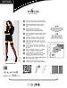 Черные чулки в сеточку Passion ST020 nero размер 1/2, фото 4