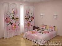 ФотоКомплект Принцесса шторы + покрывало FRA-10001306