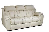"""Раскладной кожаный диван """"BOSTON"""" (200см), бежевый"""