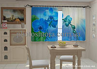 Фотошторы Орхидея в кухне 1,5м х 2,5м