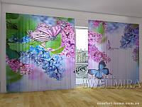 Фотоштора ПАНОРАМА 3D Сиреньевая красота 2,7х5,0 м, арт. FRA-50 001140