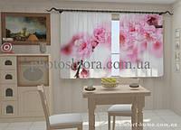 Фотошторы Веточка весны в кухне 1,5м х 2,5м