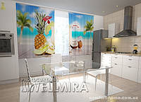 Фотошторы Гаваи в кухне (1,5м х 2,5м)