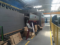 Предложение Lisec печь закалки, вотерджет,робот KSR и мойка 2012 год