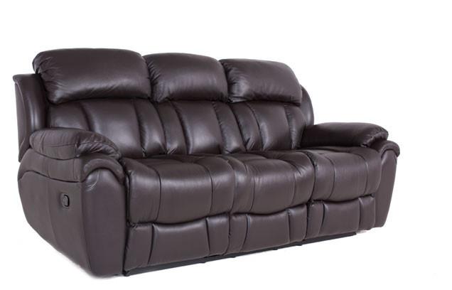 Раскладной кожаный диван Boston