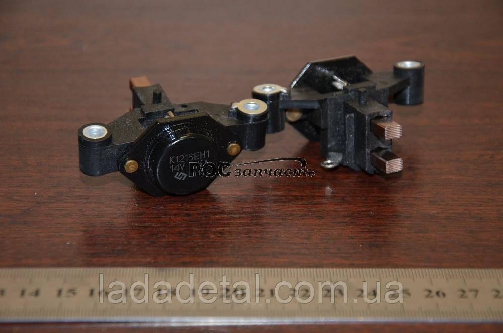 Регулятор напряжения (щеточный узел) ВАЗ 2110, 2112 Прамо К1216 ЕН1