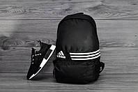 Стильный черный рюкзак адидас, рюкзак Adidas