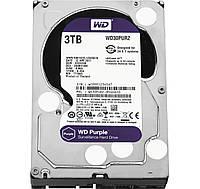 Жесткий диск 3Tb Western Digital Purple, SATA3, 64Mb, 5400 rpm (WD30PURZ)