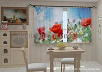 Фотошторы Маки 2 в кухне 1,5м х 2,5м