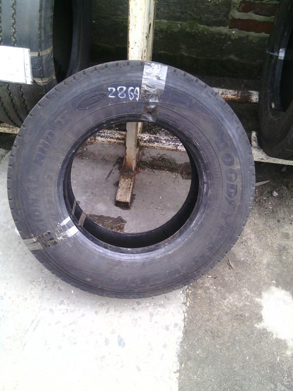 Шины б.у. 235.75.r17.5 Goodyear Regional RHD2 Гудиер. Резина бу для грузовиков и автобусов