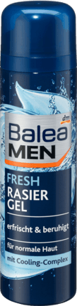 Гель для бритья Balea RasierGel Men Fresh 200 ml