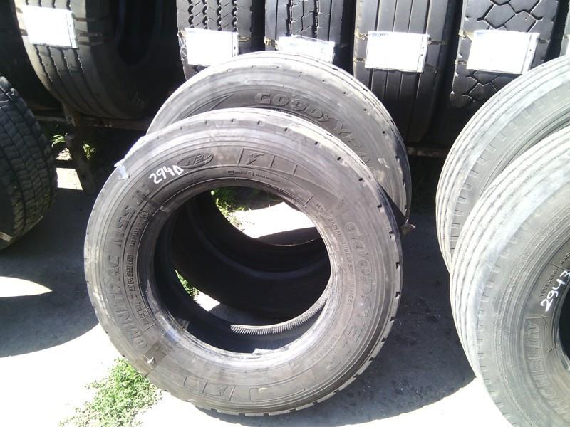 Шины б.у. 265.70.r19.5 Goodyear Omnitrac MSS2 Гудиер. Резина бу для грузовиков и автобусов