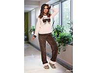 Домашняя одежда Lady Lingerie - Велюровый костюм 15150 ХL Код  4288