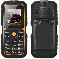 "Ударопрочный бабушкофон Guophone V3S black черный IP67 (2SIM) 1,8"" 1 Мп 4000 мАч Гарантия!"