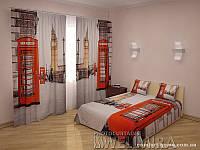 ФотоКомплект Телефон шторы + покрывало FRA-10001269