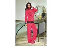 Домашняя одежда Lady Lingerie - Велюровый костюм 15200 L Код  4285