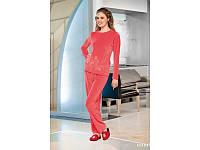 Домашняя одежда Lady Lingerie - Велюровый костюм 15210 L Код  4283