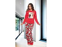 Домашняя одежда Lady Lingerie - Велюровый костюм 15250 XL Код  4310