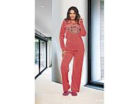 Домашняя одежда Lady Lingerie - Велюровый костюм 15230 XL Код  4309