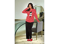 Домашняя одежда Lady Lingerie - Велюровый костюм 15350 XL Код  4307