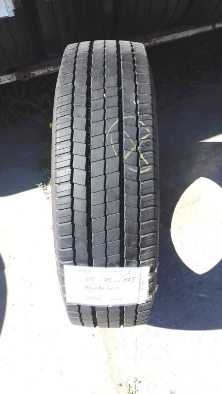 Шины б.у. 215.75.r17.5 Michelin XZE1 Мишлен. Резина бу для грузовиков и автобусов