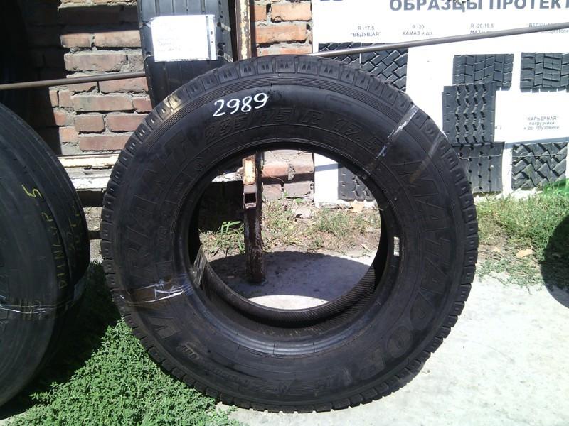 Шины б.у. 235.75.r17.5Matador VARIANT Матадор. Резина бу для грузовиков и автобусов